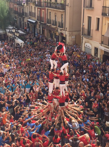 International Performance In Tarragona, 2015